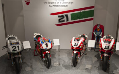"""Al Museo Ducati """"Troy Story: the Legend of a Champion"""""""