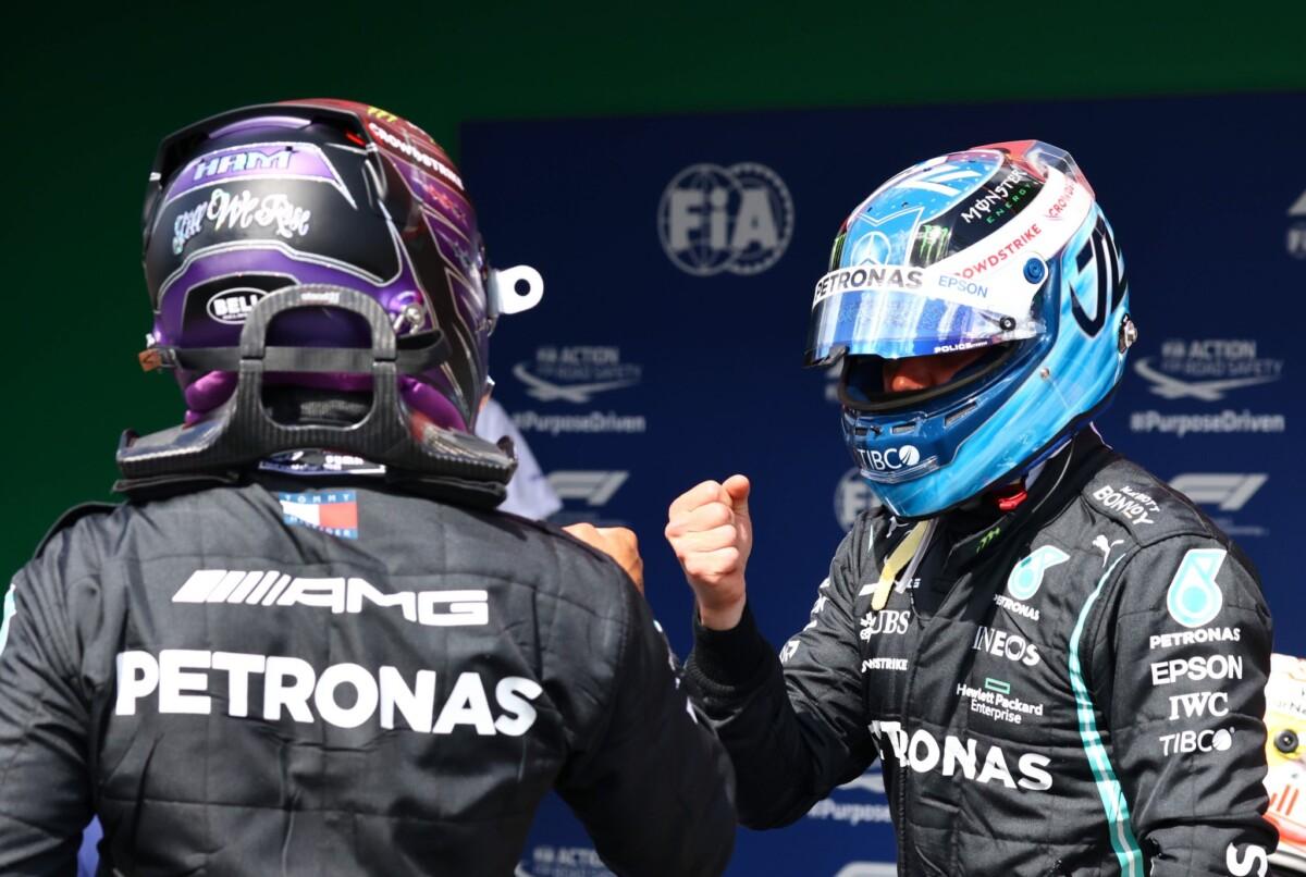 In Portogallo pole di Bottas, poi Hamilton e Verstappen. Ferrari 5° e 8°