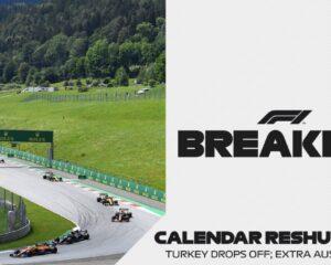 Cambia il calendario F1: Turchia out, due GP in Austria, slitta la Francia