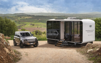 Land Rover e Airbnb presentano Defender Eco Home