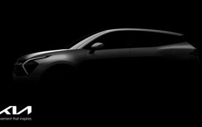 Le prime immagini del nuovo Kia Sportage