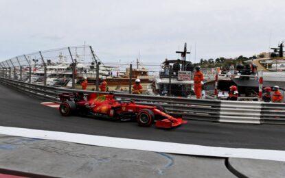 Monaco: pole col botto di Leclerc davanti a Verstappen e Bottas