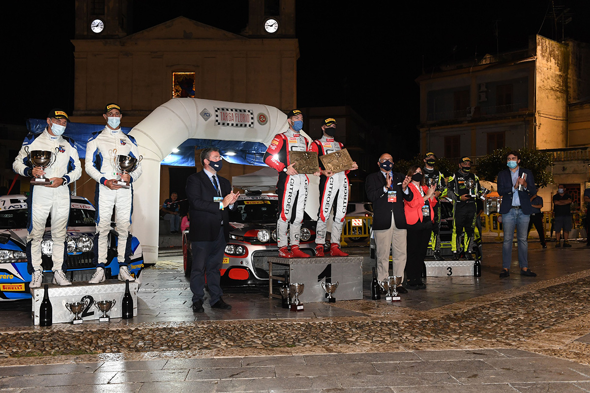 Il CIR Sparco pronto per affrontare la Targa Florio