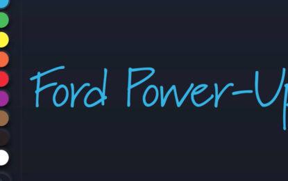 Ford Power-Up: un'esperienza di guida sempre migliore