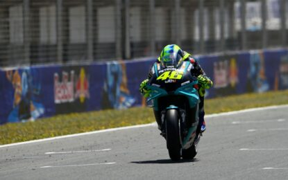 In qualifica a Jerez Morbidelli 2°, Rossi 17°. End of the story