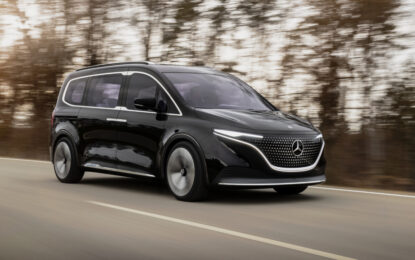 Anteprima mondiale Mercedes Concept EQT