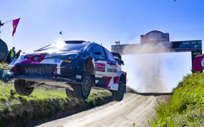 WRC: vittoria per Evans e terzo posto per Ogier in Portogallo