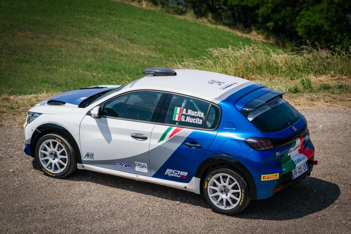 Peugeot e Nucita pronti per il Rally di San Marino