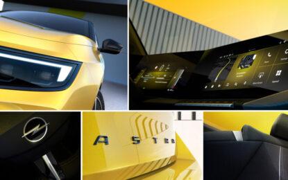 Primo sguardo alla nuova Opel Astra