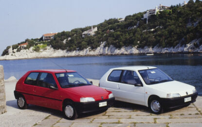 Peugeot 106 spegne 30 candeline