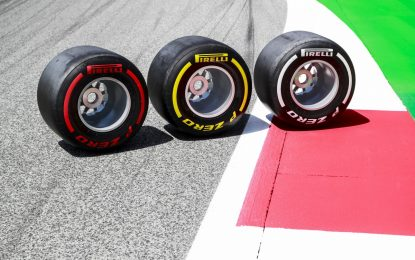 Pirelli: nelle libere in Austria i team proveranno un nuovo pneumatico posteriore