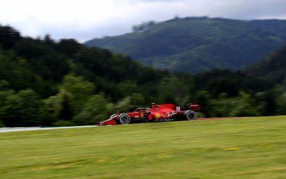 Ferrari: 147 giri e tanto lavoro su assetti e gomme