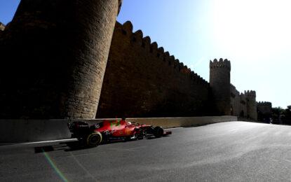 Baku: per la Ferrari dopo la pole l'obiettivo è più punti possibile in gara