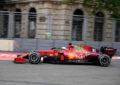 La Ferrari lascia Baku col terzo posto nel Costruttori