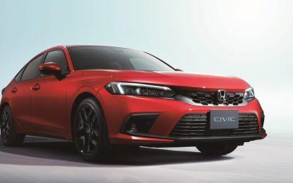 Honda svela le prime immagini di nuova Civic