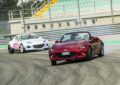 Mazda porta il drifting a Monza in uno show con la MX-5