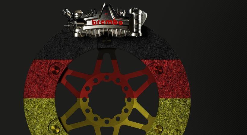 MotoGP: i sistemi frenanti Brembo al GP di Germania 2021