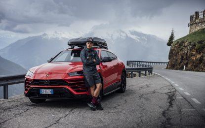 Lamborghini Urus e Aaron Durogati in un'impresa eccezionale
