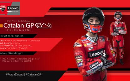 GP di Catalogna: Ducati si prepara al settimo round