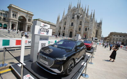 Audi Q4 e-tron torna a Milano al MIMO