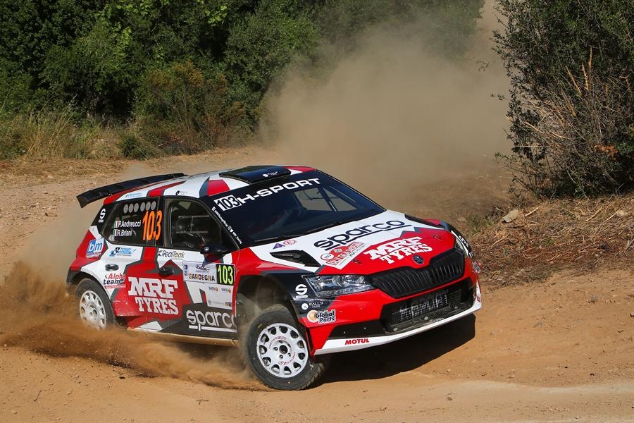 CIRT: Andreucci vince il secondo round al Rally Italia Sardegna
