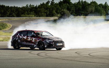 Nuova Audi RS 3 con tecnologia Torque Splitter