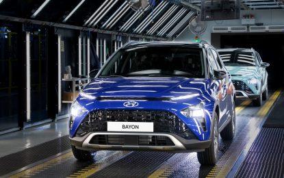 Hyundai avvia la produzione di BAYON