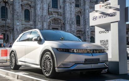 Nuova IONIQ 5: test drive in anteprima per il pubblico del MIMO