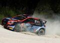 Scandola-D'Amore al Rally Italia Sardegna con la Hyundai i20 R5