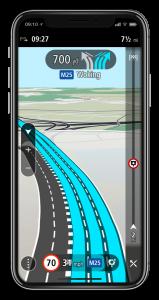 TomTom GO Navigation – Moving Lane Guidance