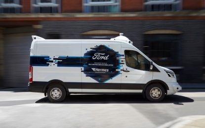 Ford, Hermes e il futuro delle consegne con la guida autonoma