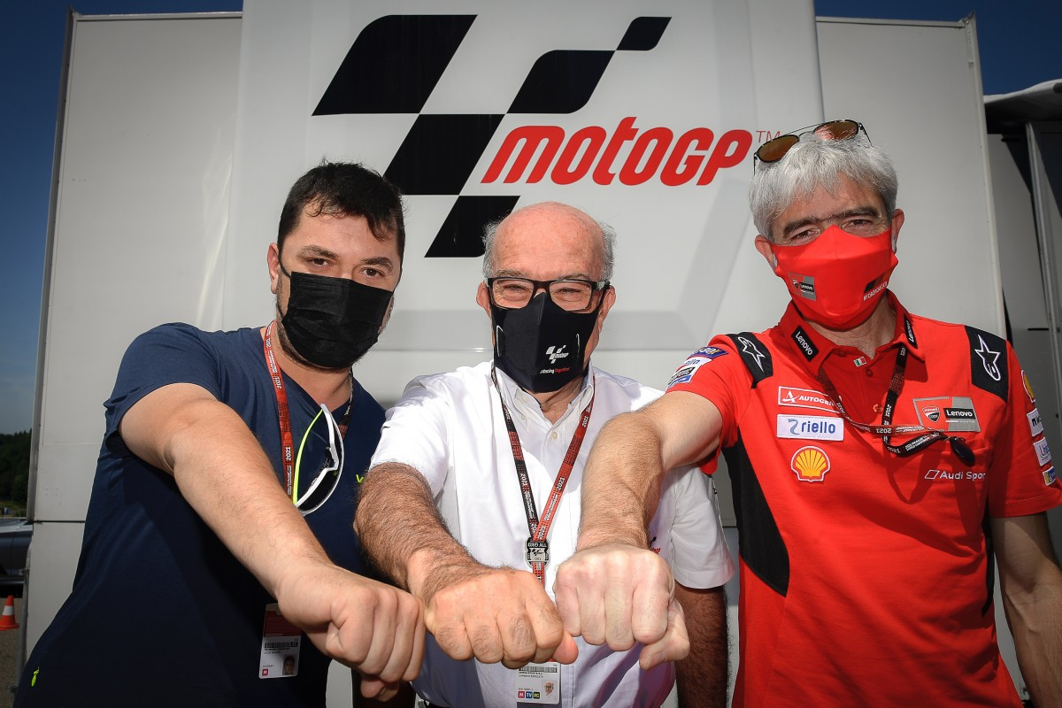 Aramco Racing Team VR46 in MotoGP dal 2022, team satellite Ducati