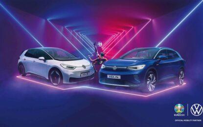 Volkswagen Official Mobility Partner di UEFA EURO 2020