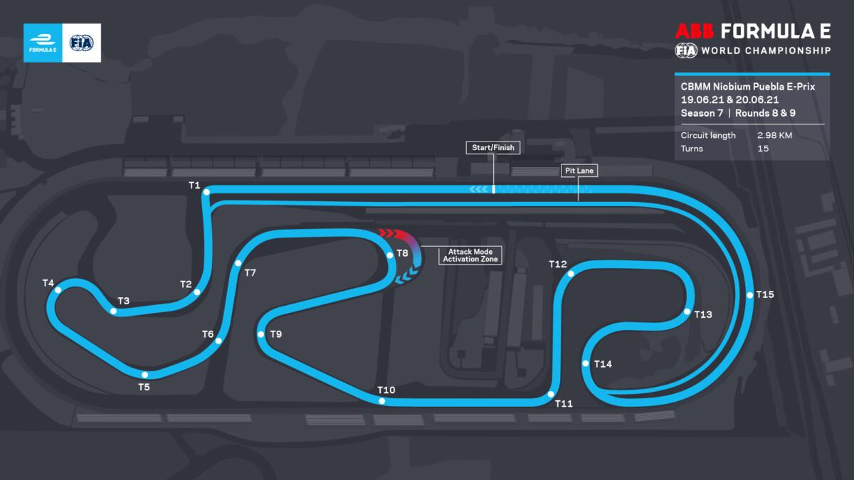 Formula E: gli orari TV dei round 8 e 9 in Messico