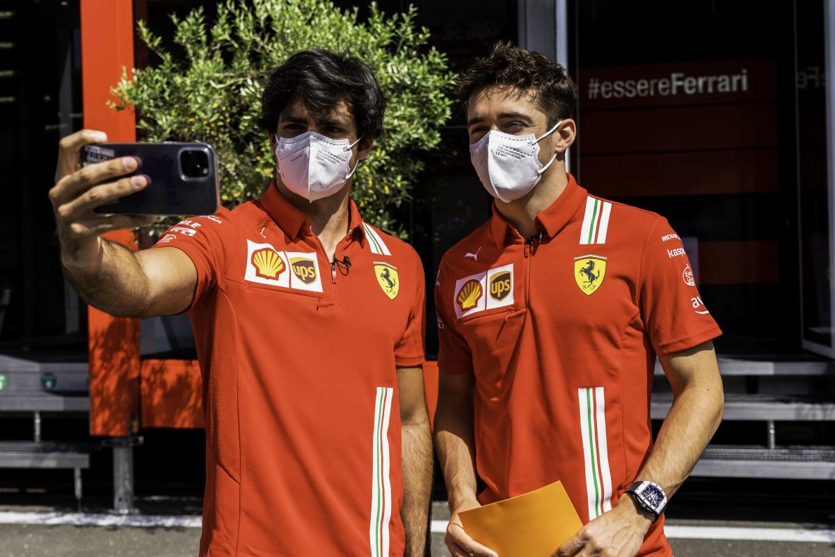 """Sainz e Leclerc: """"Circuito semplice ma impegnativo, che non perdona"""""""