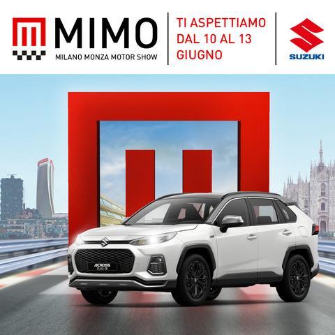 Suzuki al MIMO: mix di tecnologia, performance e stile