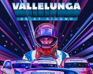 smart e-cup: lo stile di Kaneda per la gara a Vallelunga