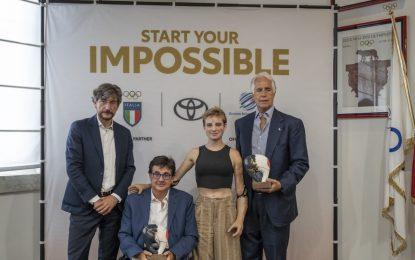 Toyota Italia con gli atleti olimpici e paralimpici che andranno a Tokyo