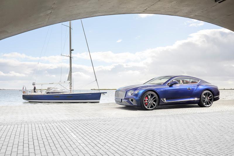 Gli interni Bentley ispirano il design di uno yacht di lusso