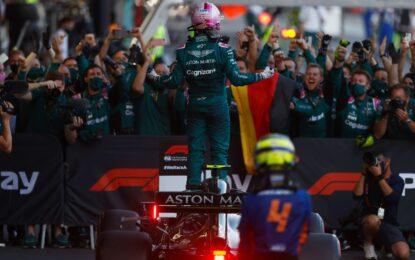 Vettel ha ritrovato il calore che in Ferrari gli mancava