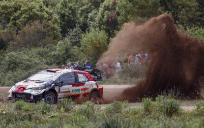 Rally Italia Sardegna: vince Ogier, doppietta Toyota