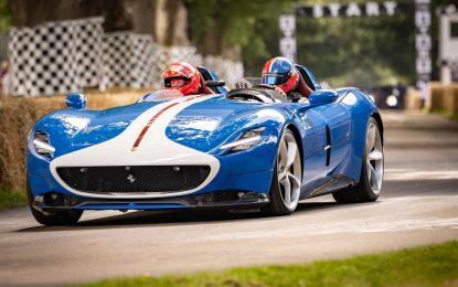 Ferrari: show da sogno al Goodwood Festival of Speed