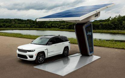Anteprima nuova Jeep Grand Cherokee 4xe Plug-In Hybrid 2022