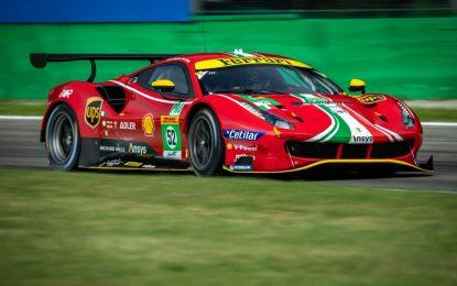 WEC: Ferrari al comando nelle prime libere a Monza
