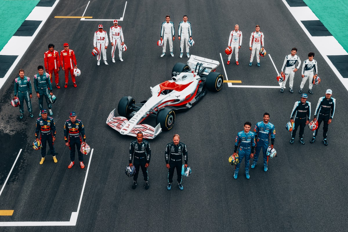 F1: l'evento One Begins svela la monoposto 2022