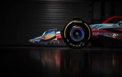 Uno sguardo alla F1 del 2022 con i nuovi Pirelli da 18″