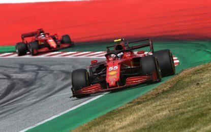 La Ferrari lascia l'Austria con 14 punti. Il massimo possibile…