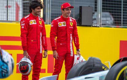 Vigilia di Silverstone carica di curiosità per Leclerc e Sainz