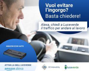 """ACI lancia """"Luceverde"""", nuova skill di Alexa per la mobilità"""