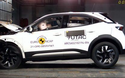 Test Euro NCAP: quattro stelle per Renault Kangoo e Opel Mokka